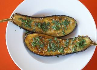 Sweet and Spicy Eggplant