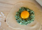 Ravioli with Spinach and Egg