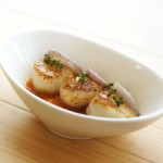 Scallops with Kumquats