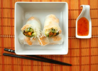 Summer Rolls with Shrimp