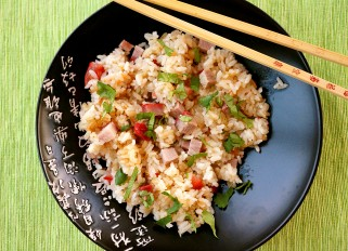 Jasmine Rice with Ginger and Meat