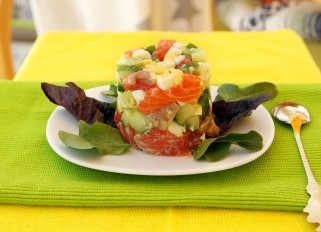 Salmon - Avocado Salad