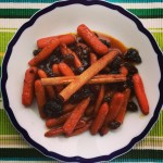 Carrots Tzimmes with Raisins and Prunes