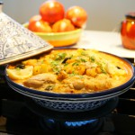 Chicken Tajine with Pumpkin and Dried Fruits