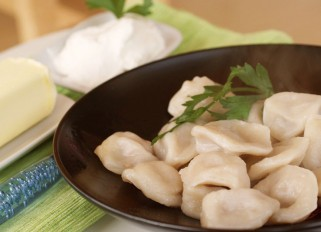 Pelmeni (Dumplings) with Meat