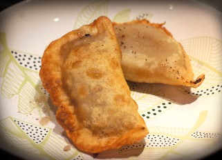 Chebureki with meat