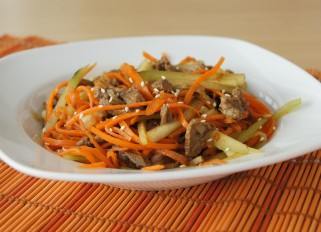 Beef Salad with Vegetables