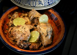 Rabbit Tajine