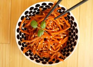 Russian-Korean Carrot Salad