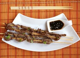 Beef with Teriyaki Sauce