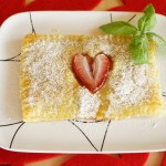 Puff Pastry with Strawberries and Nutella