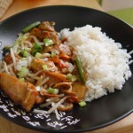Chicken in Wok with Vegetables
