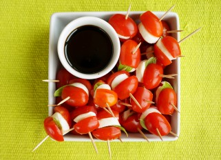 Caprese Salade on a Stick