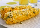 Corn with Herbs and Parmesan