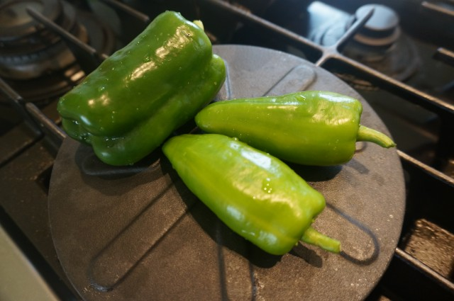 Marinated Green Peppers-2