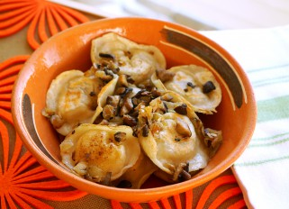 Vareniki with Potato and Mushrooms
