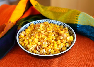 Corn Salad with Bacon and Paprika