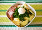 Radish, Cucumber and Egg Salad