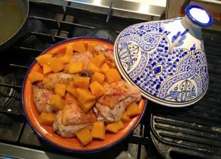 Chicken Tajine with Pumpkin
