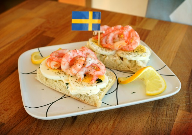 Räkmacka, Swedish Shrimp Sandwich