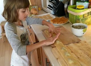 italian sausage and pesto ravioli