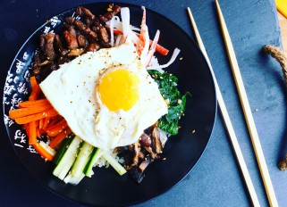 Bibimbap for dinner tonight