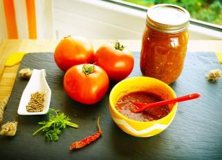 Satsebeli sauce (pamidvris satsebeli)
