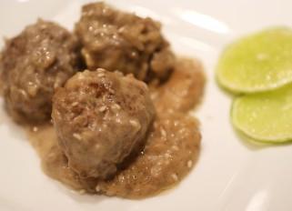 Meatballs in Coconut Milk
