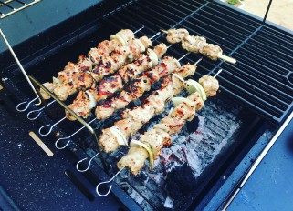 Pork shashlik