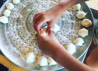 Making pelmeni today