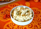 Mashed Potatoes with Baked Garlic and Rosemary