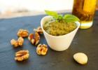 Pesto with Walnuts and Basil