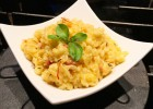Creamy Orzo with Bacon and Corn