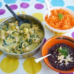 Creamy Poblano Rajas with Chicken