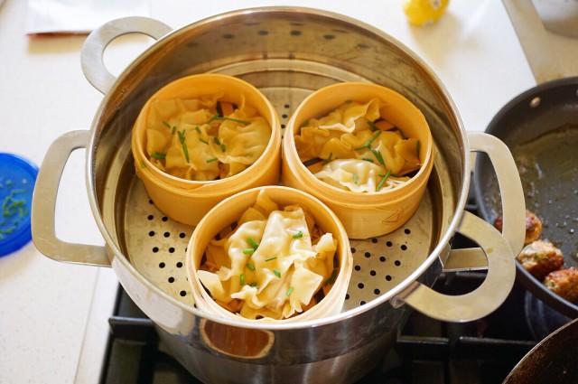 Sweet and Sour Pork Steamed Dumplings