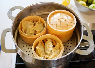 Sweet and Sour Pork Steamed Dumplings