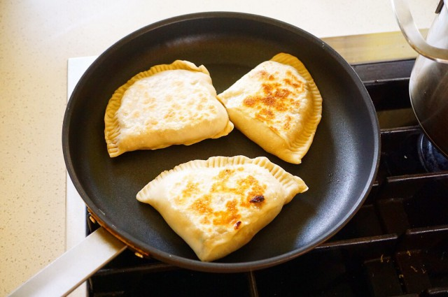 Chinese bread / dumplings with meat