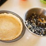 Blueberry pie