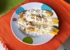 Fried Plantain with Sour Cream