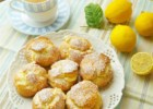 Profiterole/ Cream Puffs with Creamy Lemon Curd