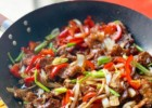Mongolian Beef with Vegetables