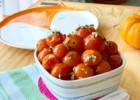 Roasted Cherry Tomatoes with Thyme, Garlic, Oregano and Olive Oil