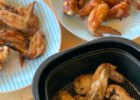 Smoker and air fryer chicken wings