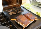 Smoked Salmon on a Gas Stove-Top