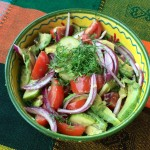 Vegetable Salad with Avocado and Lime Juice-2